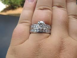 how to wear wedding ring set show me the wedding bands weddingbee