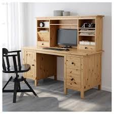 Schreibtisch Mit Computer Hemnes Schreibtisch Mit Aufsatz Weiß Gebeizt Ikea