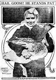 thanksgiving goose that used to be a thing in cincinnati