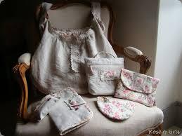 couture accessoire cuisine nouvelle vie pour une chemise de nuit gris