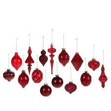winter 15 glass ornament set 8445629 hsn