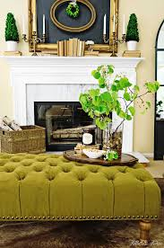 furniture terrific living room design with tufted ottoman coffee