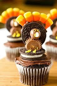 thanksgiving turkey cupcakes brown eyed baker