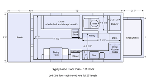 floor plans for one homes beautiful tiny homes on wheels floor plans home plans design
