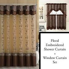 Chocolate Brown Shower Curtain Cheap Chocolate Brown And White Shower Curtain Find Chocolate