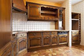 peinture element cuisine cuisine peindre plan de travail carrelé cuisine high