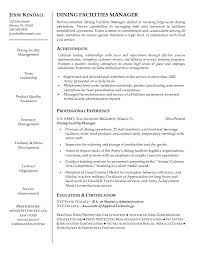 manager resume word facility manager resume microsoft word jk dining facilities