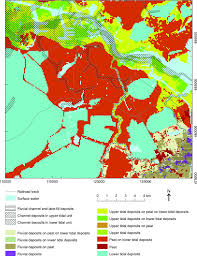 Map Of Amsterdam 3d Subsurface Modelling Reveals The Shallow Geology Of Amsterdam