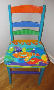 Painted Chairs Images 290 Best Whimsy Painted Furniture Images On Pinterest Painted