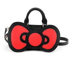 hello bow hello crossbody bag big bow sanrio