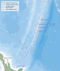 islands map kermadec islands map kermadec islands te ara encyclopedia of