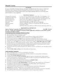 Best Team Lead Resume Example by Qa Lead Resumes Amitdhull Co