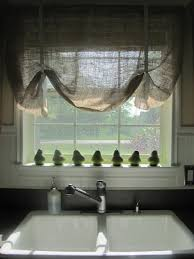 No Sew Roman Shades Instructions - 32 best primitive country curtains images on pinterest primitive