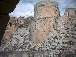 panoramio photo of krak des chevaliers castle syria