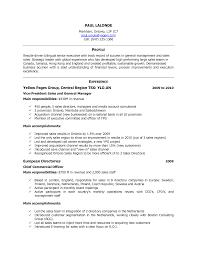 Canada Resume Sles canada resume exle pertamini co