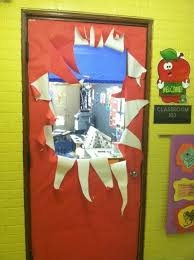 Christmas Door Decorations Ideas For The Office Fabulous Army Life Holiday Door Decorating Contest Winning