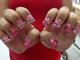 colorful pedicure designs cheetah nails design bow nails design