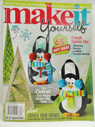 make it yourself magazine special interest holiday craft