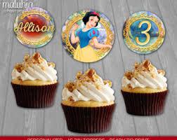 snow white cupcake etsy