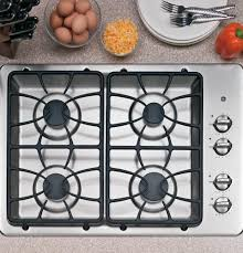 Gas Cooktops Canada Amazon Com Ge 30 Inch 4 Sealed Burner Built In Gas Cooktop