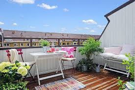 apartment rooftop decoration with garden ideas for cozy summer
