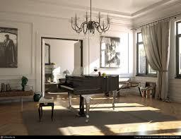piano room sun by christoph mensak 3d cgsociety