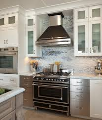 Black And White Kitchen Transitional Kitchen by Bertazzoni Range Kitchen Transitional With Black Hood Black Stove