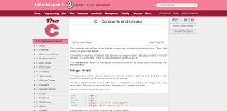 tutorial web c 20 ways to learn c programming for free