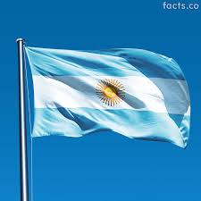 Blue Flag With White Star In The Middle Argentina Flag La Bandera De La Argentina