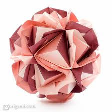 cara membuat origami kusudama origami kusudama threads of my life kusudama tutorial kusudama ball