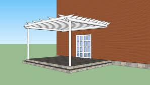 Attached Pergola Designs by How To Build A Pergola Attached To The House Howtospecialist