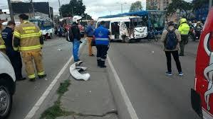 imagenes asquerosas de accidentes grave accidente de tránsito colapsó el occidente de bogotá extra