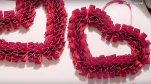 valentines day wreaths diy s day wreath craft idea