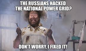 Handyman Meme - electrocuted handyman imgflip
