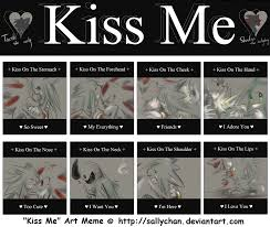 Different Kinds Of Memes - kiss meme teeth and shadow by blailver on deviantart