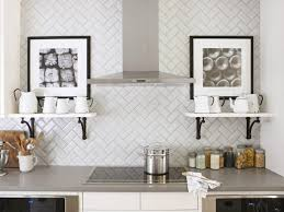 Stainless Kitchen Backsplash Subway Tile Backsplashes Hgtv