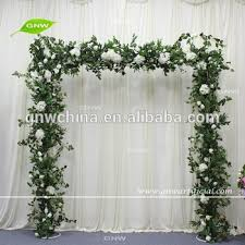wedding arches square gnw flwa170904 004 forest theme green leaves wedding entrance