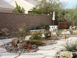 Desert Landscape Ideas For Backyards Triyae Com U003d Backyard Desert Landscaping Ideas Las Vegas Various