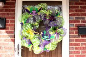 mardi gras deco mesh mardi gras deco mesh wreath big s