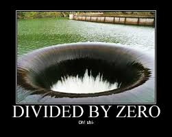 Divide By Zero Meme - there s a giant hole that s draining a lake on the border of