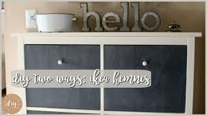 diy two ways ikea hemnes shoe cabinet youtube