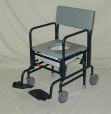 activeaid 461 shower commode chair with 5
