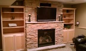 decorations wall mounted indoor fireplaces your daily harvest profit ledgestone custom cabinets gas fireplace twin