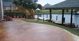 Ideas For Concrete Patio Decorative Concrete Ideas For Beautiful Concrete Surfaces The