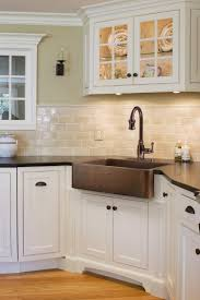 Black Farmers Sink by Corner Farmhouse Sink At U0027s Kitchen Pinterest Copper Farm