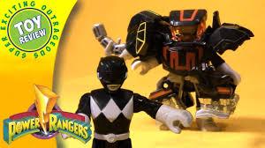 imaginext power rangers black ranger with battle armor battles