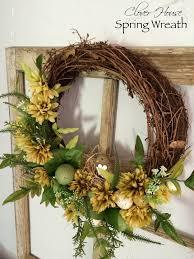 clover house semi diy spring wreath