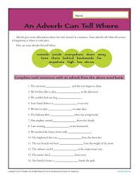 2nd grade adverb worksheets 2nd grade printable worksheets