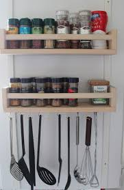 Wall Mount Spice Racks For Kitchen Bekvam Spice Rack Birch Furniture Source Philippines