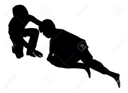 good samaritan lending a helping hand to an injured person